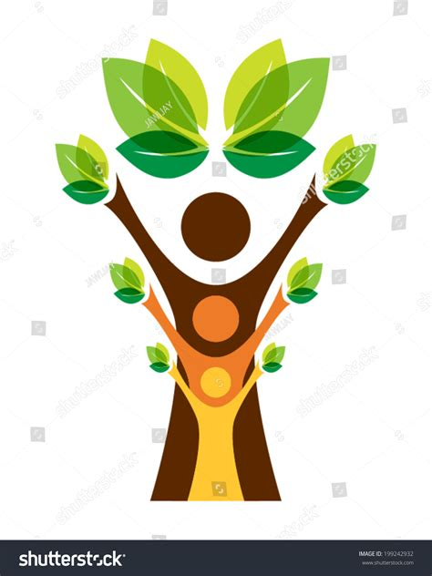 Growing Family Tree Concept Stock Vector 199242932 Shutterstock Family Tree Concept Stock Vector