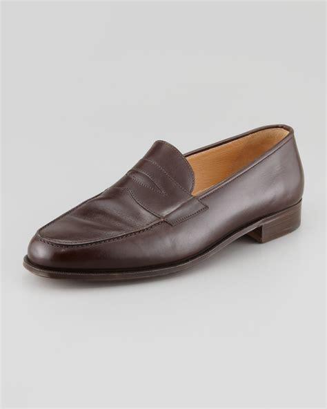 split toe loafer lyst gravati split toe rodeo calf loafer in brown
