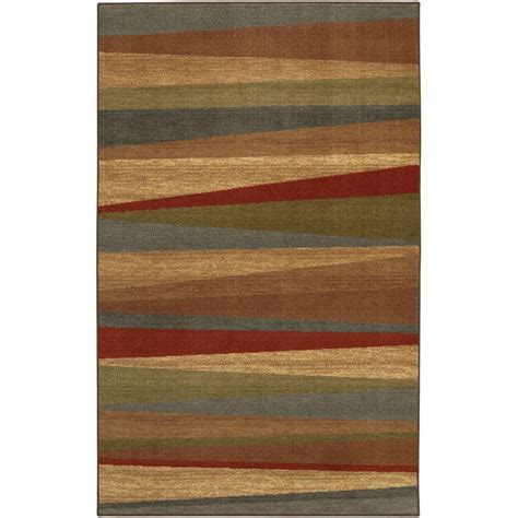 mohawk home mayan sunset 5 ft x 8 ft area rug