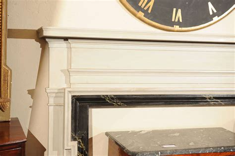 Faux Marble Fireplace Surround by American Painted And Faux Marble Fireplace Surround At 1stdibs