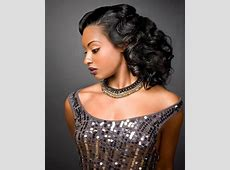 Prom Curly Hairstyles for African Americans | African ... Modern Flapper Hair