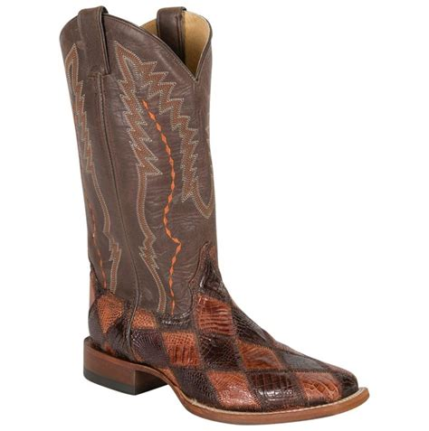 Mens Patchwork Boots - cinch mens american alligator patchwork boots