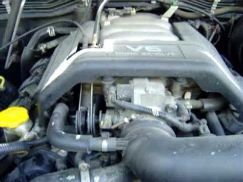 opel frontera engine opel frontera v6 motor engine youtube