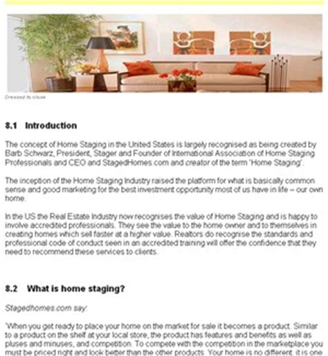 home staging business plan 5 home staging business