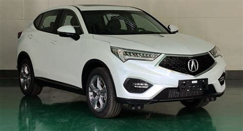 new acura cdx compact suv exposed in china rivals