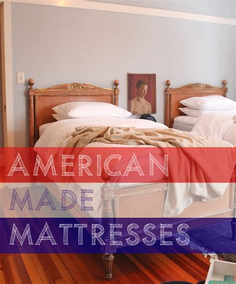 12 mattress brands that are made in america this