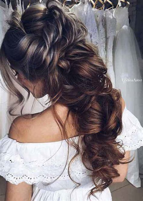 pakistani engagement hairstyles for brides in 2019