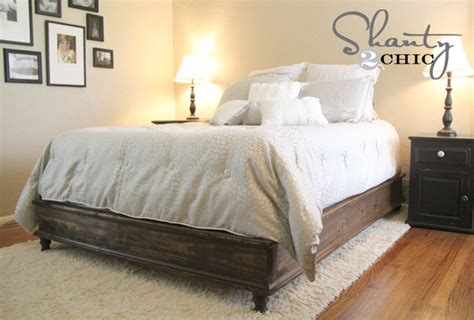 diy queen size platform bed ana white chestwick platform bed queen size diy projects