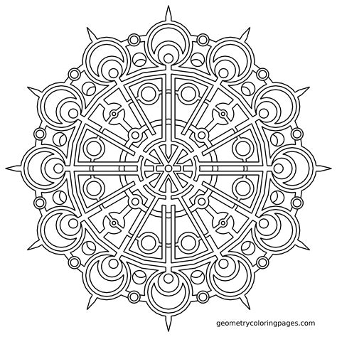 mandala coloring pages advanced level free coloring pages of square mandala printable