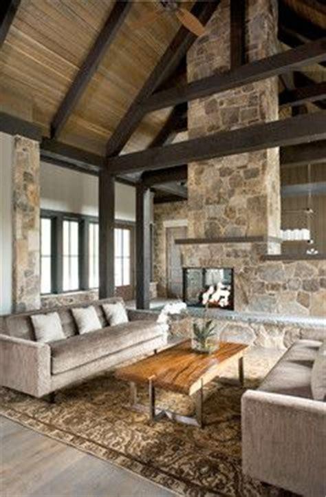 dream rustic modern design vaulted ceiling exposed