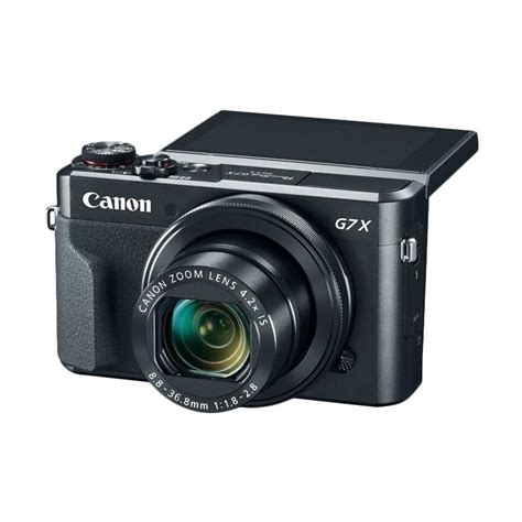 Kamera Canon G7x jual canon g7x ii kamera pocket black harga kualitas terjamin blibli