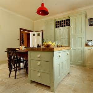 country kitchen painted island unit housetohome co uk