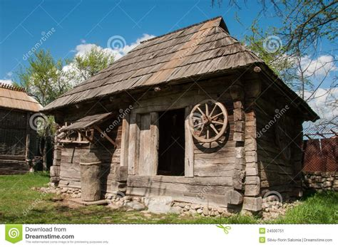 8x8 house plans old wooden house in rural romania stock image image of structure wood 24500751