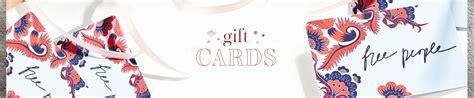 Free People Gift Card - buy free people gift cards free people uk