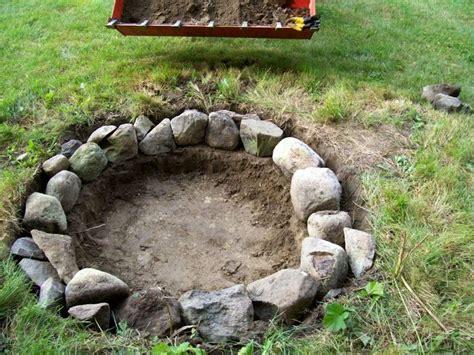 how to start a pit diy firepit diy