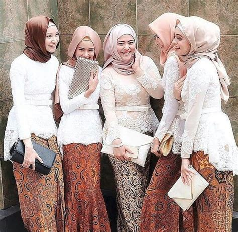 mdl kebaya seragam brokat 2017 50 model baju brokat muslim dari dress gamis hingga