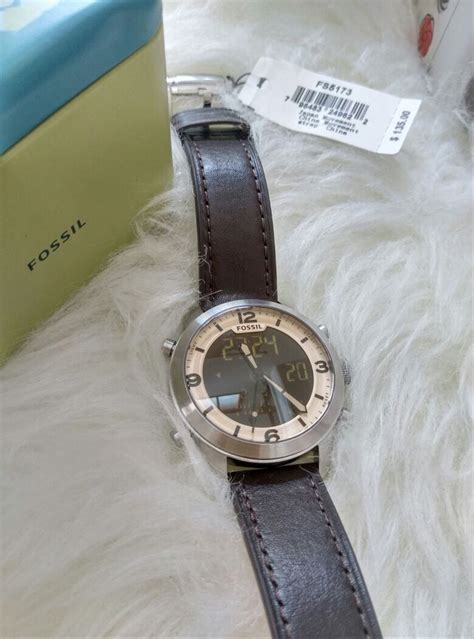 jual jam tangan fossil fs ori jam fossil original