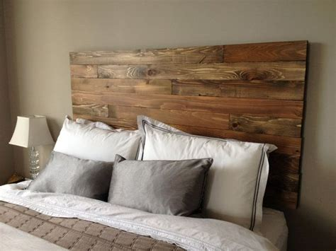 wood plank headboard best 25 wall mounted headboards ideas on pinterest wall