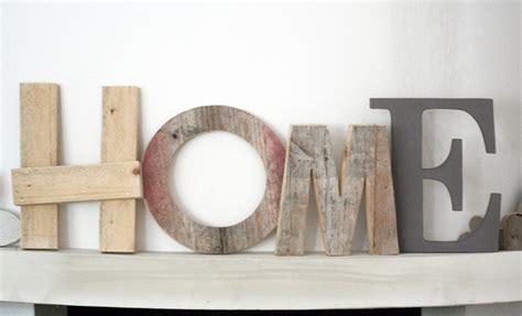 Scritte In Legno Maison Du Monde by Decorazioni Da Parete Scritta Home Con Lettere In Legno