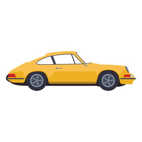 yellow porsche png yellow car illustration transparent png svg vector