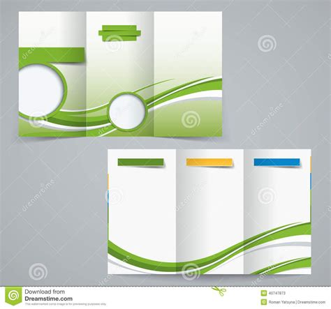three fold brochure template free three fold brochure template corporate flyer or cover