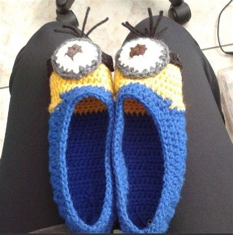 knitted minion slippers 400 best images about couture tricot crochet etc on