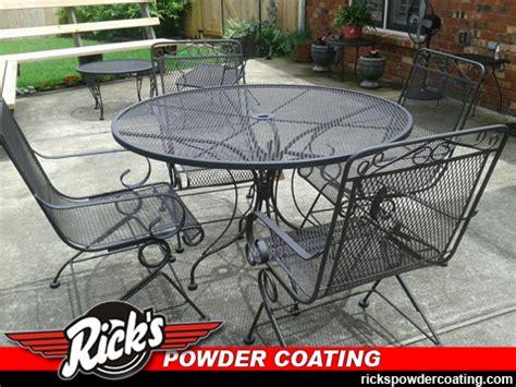 powder coating patio furniture ornamental iron powder coating ornamental costing refinishing of metal patio and lawn furniture