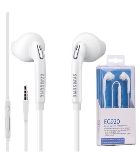 samsung eg920 in ear wired earphones with mic white buy