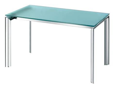 tavolo per ufficio tavolo in metallo con piano in vetro colorato per ufficio
