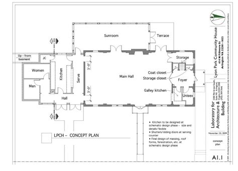 community center floor plan lyon park community center floor plan arlnow