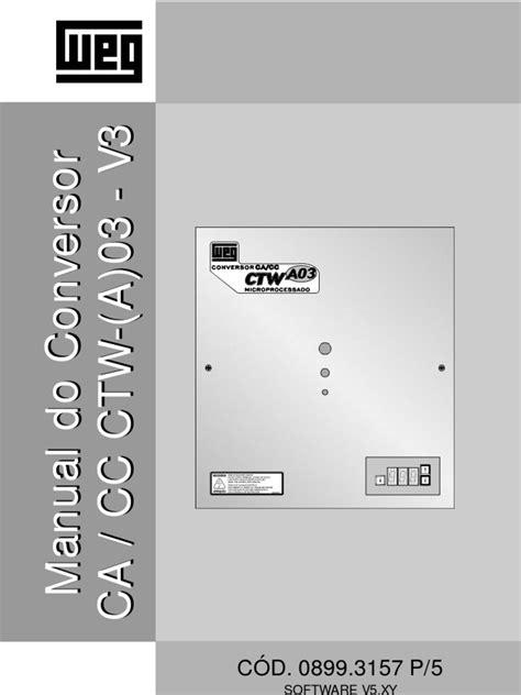 Conversor CA Cc Cfw 03 | Rede Elétrica | Eletrônicos