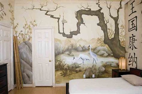 japanese bedroom wallpaper eastern themed children s bedroom mural asian bedroom