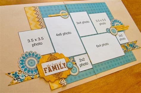 Creating Hybrid Scrapbook Layouts The Mad Cropper 4 17 best ideas about scrapbook frames on design