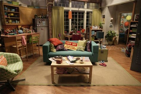 the big bang theory apartment the lovely side penny s apartment big bang theory