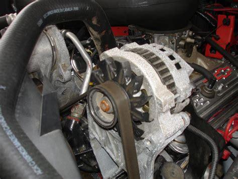 replace  alternator