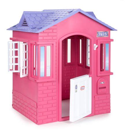 tikes cottage tikes princess cottage playhouse pink walmart