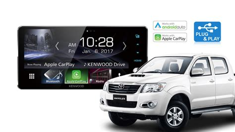 toyota hilux stereo upgrade kenwood ddx917ws