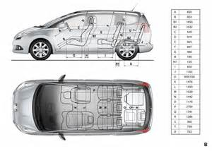 Peugeot 5008 Dimensions Pin Interior Dimensions On