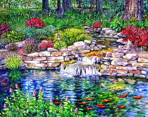 jardines y paisajes cuadros modernos pinturas y dibujos paisajes de jardines