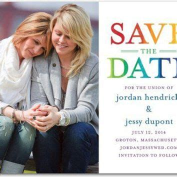Wedding Paper Divas Save The Date Postcards by Save The Date Postcards Bright Title By From Theknot
