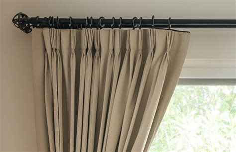 Hanging Curtains On Poles Designs How High Above My Window Do I Fit My Curtain Pole