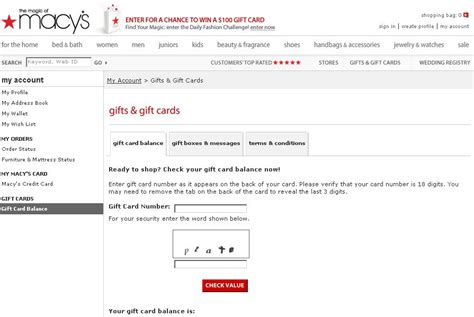 The Source Gift Card Balance - gift card balance macys lamoureph blog