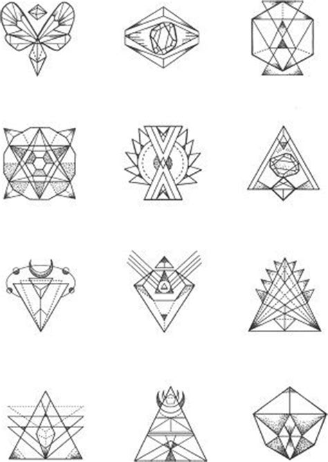 geometric pattern meanings best 25 small geometric tattoo ideas on pinterest