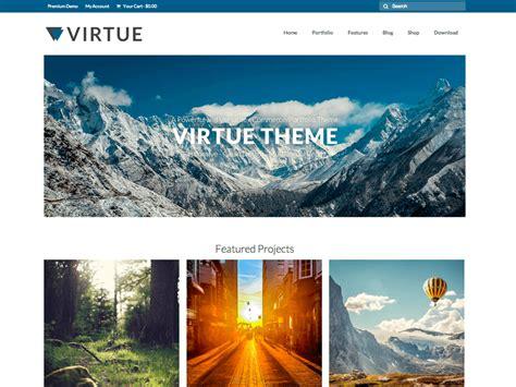 theme virtue blog 30 best free responsive wordpress themes 2018