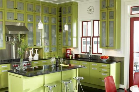 Marvelous Salle De Bain Vert Lime  #13: Decoracion-de-cocinas-de-colores.jpg