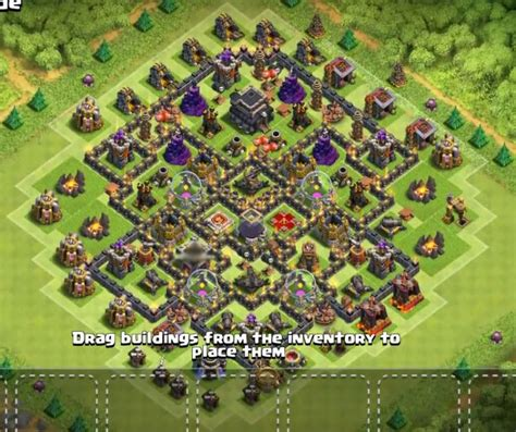 best th9 hybrid base 2016 12 best town hall th9 base designs layouts 2017 cocbases
