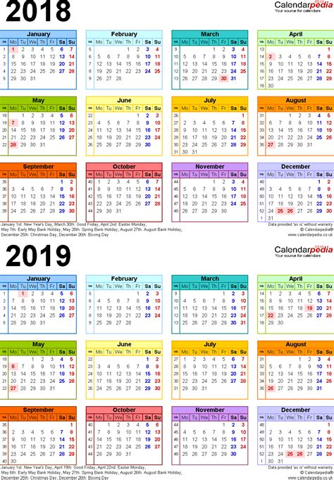 2018 2019 two year monthly pocket planner 24 month calendar 4 0 x 6 5 books two year calendars for 2018 2019 uk for pdf
