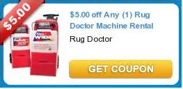 5 00 any 1 rug doctor machine rental new coupons