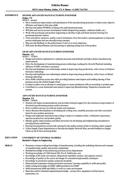 Advanced Semiconductor Engineer Sle Resume by Fabrication Engineer Resume Sles Velvet Sle Special Education Resume Gre Essay Exles
