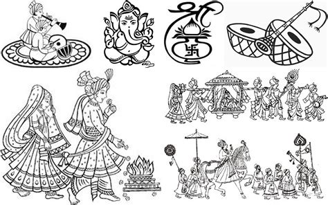 wedding clipart for invitations indian wedding card clipart unique wedding symbols for